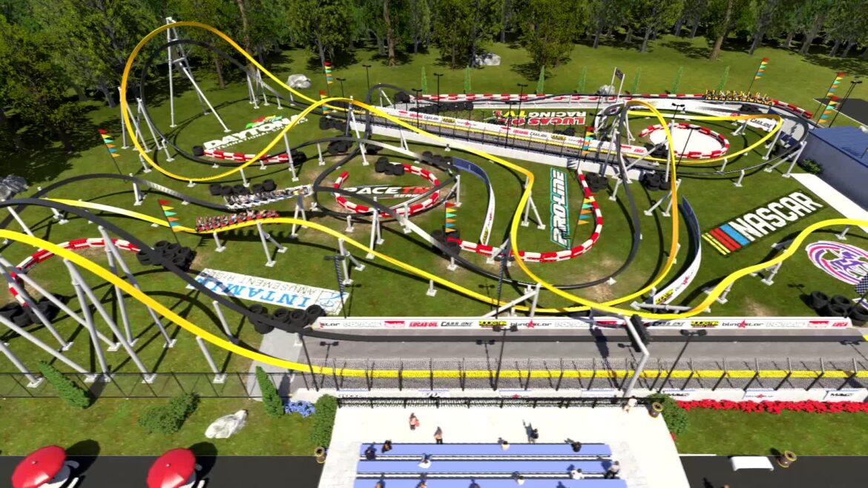 Autodrome Hot Racer – Launched Single-Rail Roller Coaster