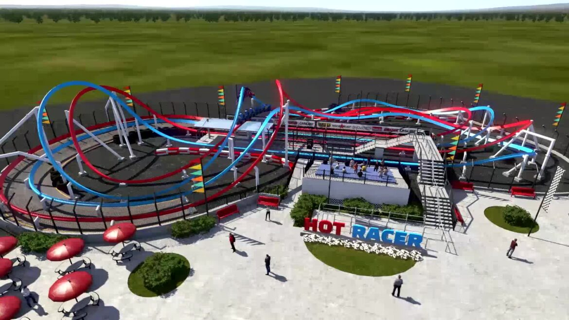 Infinity Hot Racer – Launched Single-Rail Roller Coaster