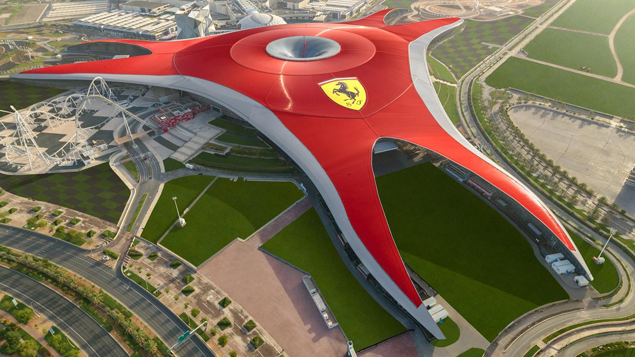 Top 3 Ferrari World Abu Dhabi Attractions Are From Intamin Intamin Amusement Rides