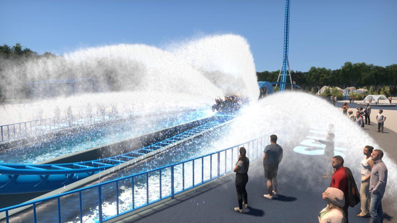 Intamin Ultra Surf Render